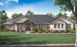 Modern-Farmhouse Style House Plans Plan: 50-427