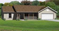 Ranch Style House Plans Plan: 51-178