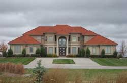 Mediterranean Style Home Design Plan: 52-152