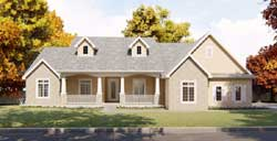 Country Style Floor Plans Plan: 52-193