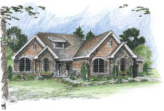 Bungalow Style House Plans Plan: 52-202