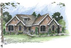 Bungalow Style Home Design 52-202