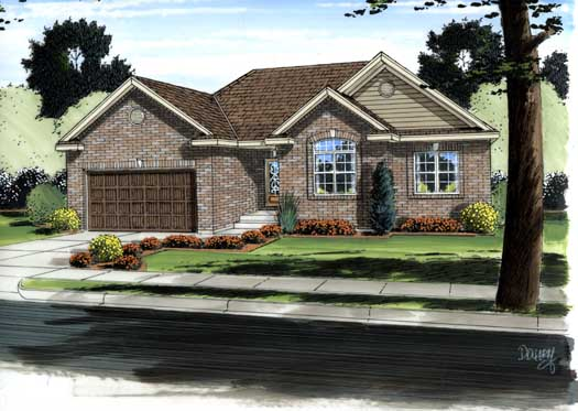 Traditional Style House Plans Plan: 52-265