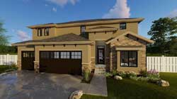 Tuscan Style House Plans Plan: 52-272
