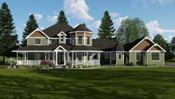 Victorian Style House Plans Plan: 52-312
