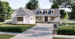 Modern-Farmhouse Style Floor Plans Plan: 52-324