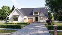 Modern-Farmhouse Style Floor Plans Plan: 52-329