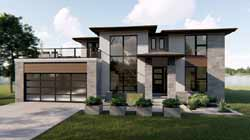 Modern Style Floor Plans Plan: 52-360
