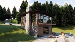 Modern Style Floor Plans Plan: 52-361