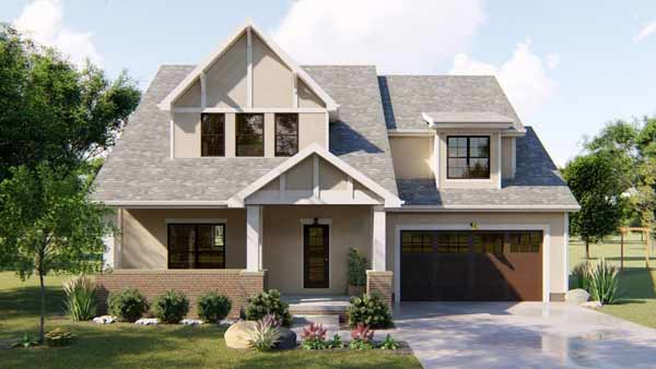 Craftsman Style House Plans Plan: 52-370