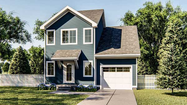Traditional Style House Plans Plan: 52-377