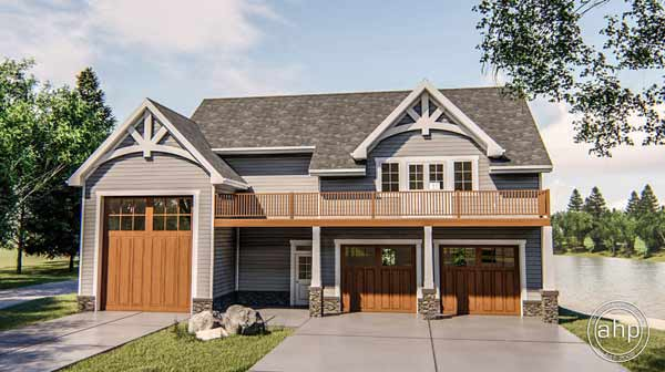 Craftsman Style House Plans 52-394