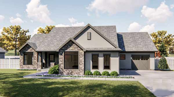 Traditional Style House Plans Plan: 52-397