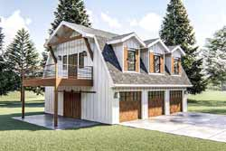 Ranch Style House Plans Plan: 52-400