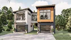 Modern Style House Plans Plan: 52-405