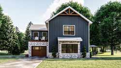 Traditional Style Home Design Plan: 52-409