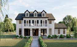 Southern Style Floor Plans Plan: 52-425