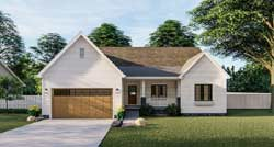 Traditional Style House Plans Plan: 52-427