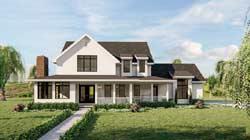 Modern-Farmhouse Style Floor Plans Plan: 52-430
