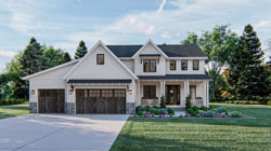 Modern-Farmhouse Style Floor Plans Plan: 52-440