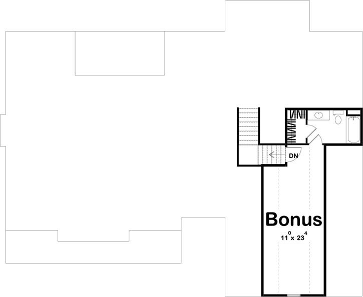 Bonus Floor Plan: 52-442