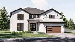 Modern-Farmhouse Style House Plans Plan: 52-459