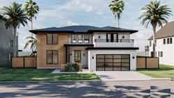 Modern Style Home Design Plan: 52-469