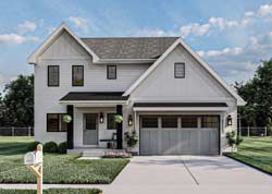 Modern-Farmhouse Style Floor Plans Plan: 52-490