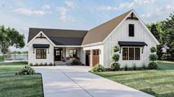Modern-Farmhouse Style Floor Plans Plan: 52-491