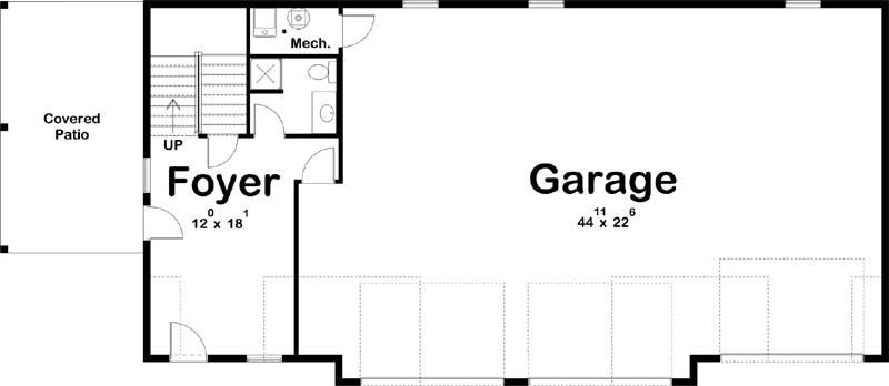 Main Floor Plan: 52-495
