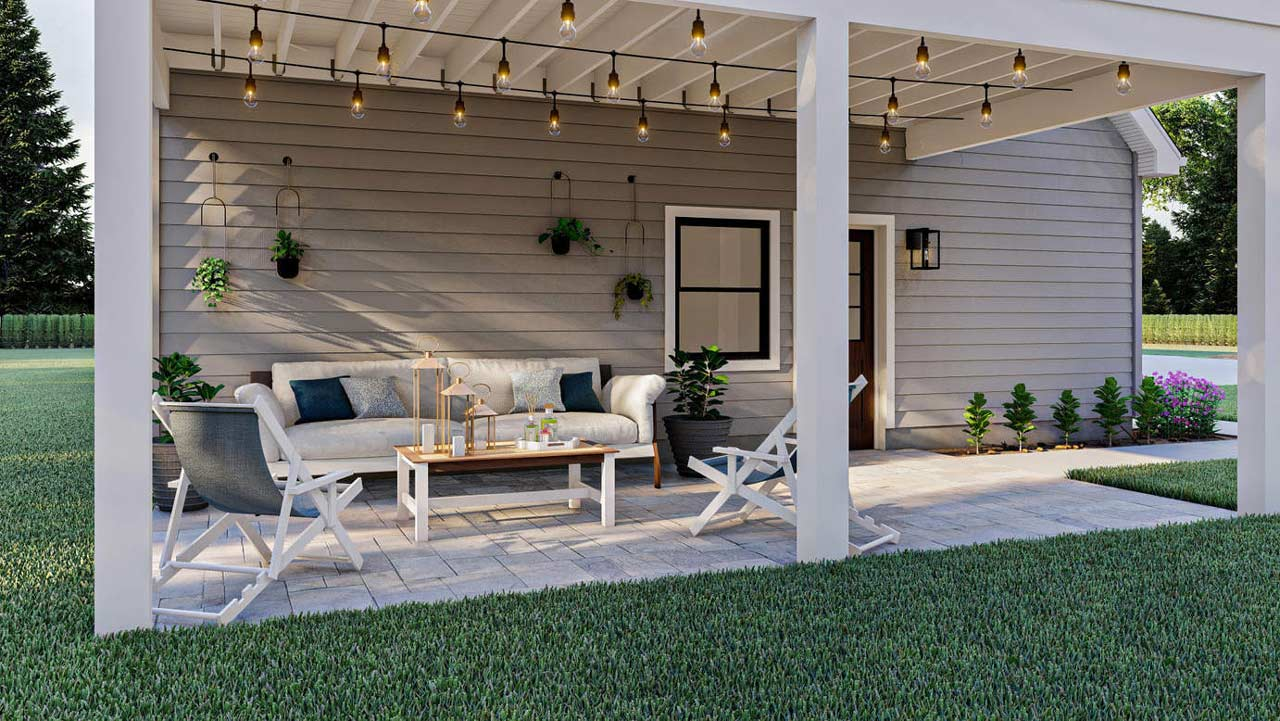 Carriage Style Home Design