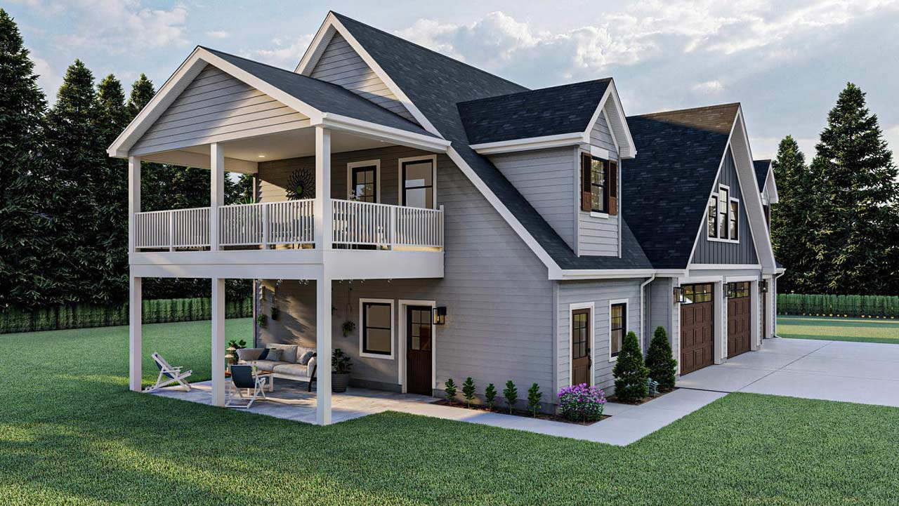 Carriage Style House Plans