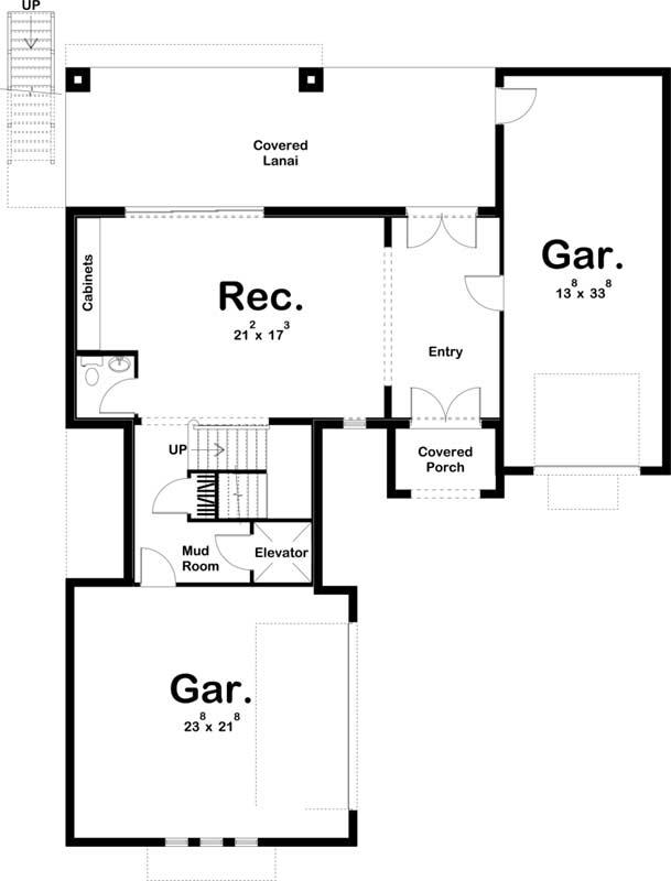 Main Floor Plan: 52-499