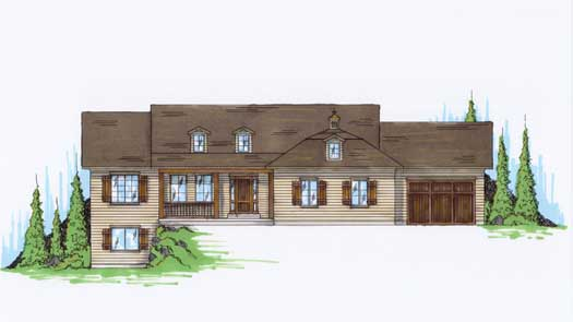 Traditional Style House Plans Plan: 53-116