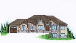 Craftsman Style House Plans Plan: 53-129