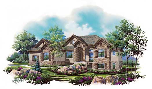 Northwest Style House Plans Plan: 53-162