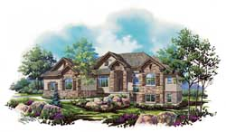 Northwest Style Floor Plans 53-162
