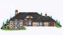 Traditional Style House Plans Plan: 53-198
