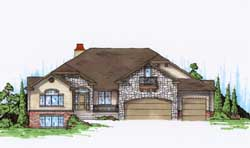 Traditional Style Floor Plans Plan: 53-259