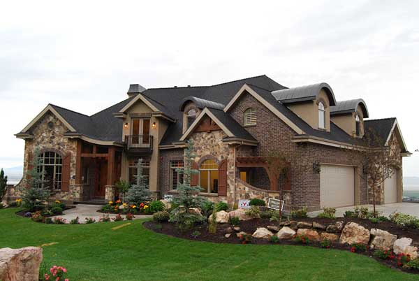 French-country Style Home Design