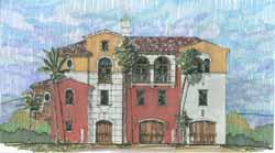 Mediterranean Style Floor Plans Plan: 54-105