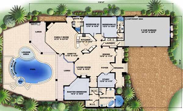 Main Floor Plan: 55-107