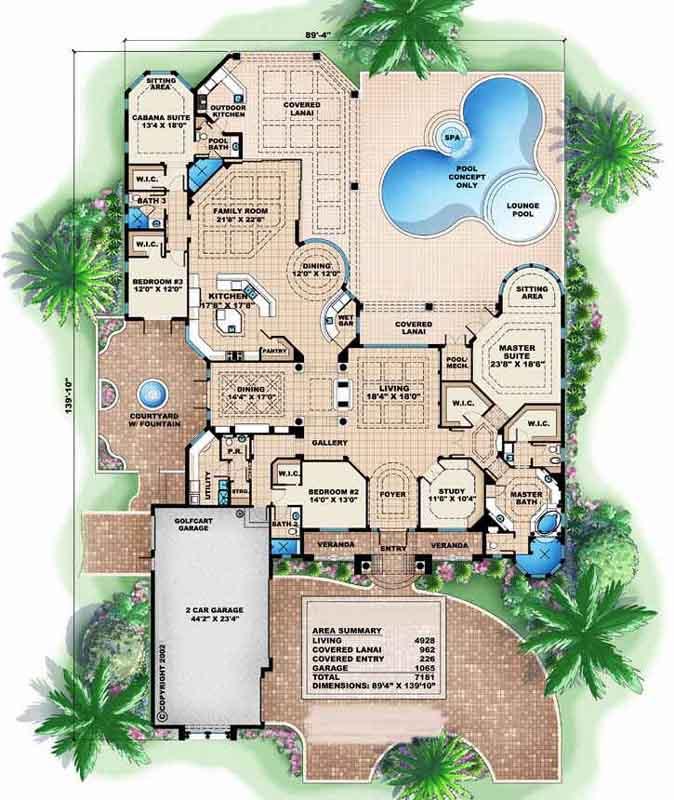 Main Floor Plan: 55-115