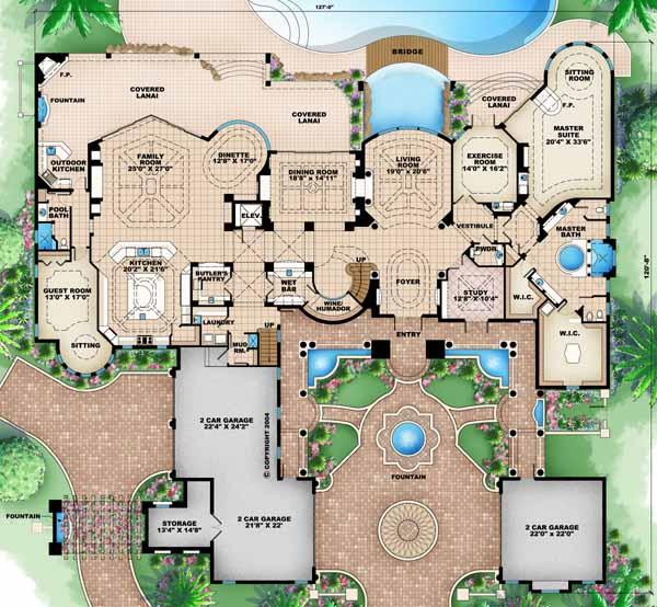Main Floor Plan: 55-116