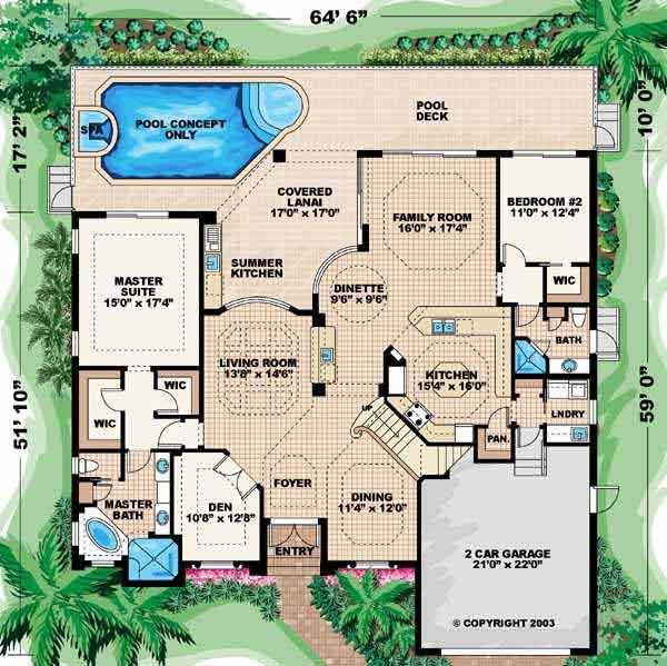 Main Floor Plan: 55-117