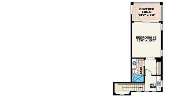 Upper/Second Floor Plan: 55-117