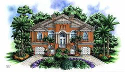 Italian Style House Plans Plan: 55-118