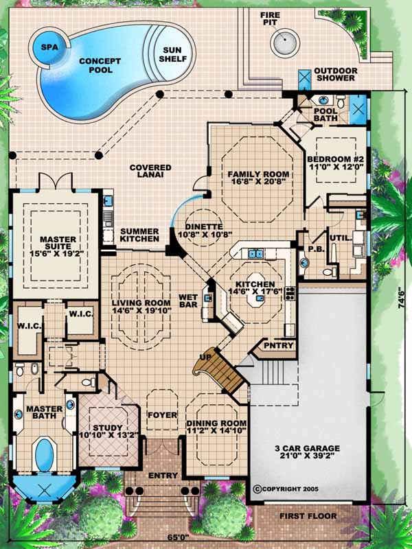 Main Floor Plan: 55-132