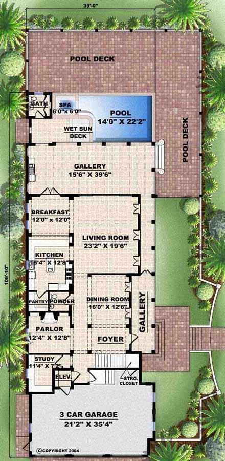 Main Floor Plan: 55-133