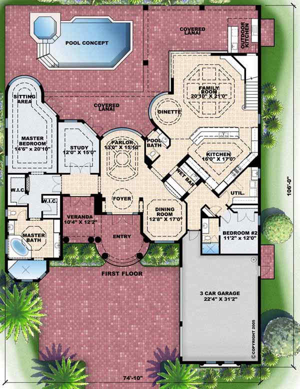 Main Floor Plan: 55-140